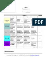 assessment- poster