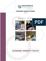 academic honesty policy 2014-15