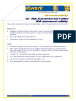 h Rac Risk Assessment Activity