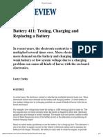 Car Battery 411