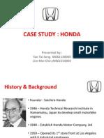 Case Study Honda