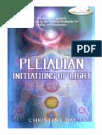 Pleiadian Initiations of Light - Christine Day