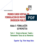 Diapositivas Del Modulo de Formulacion de Proyectos - Primera Parte