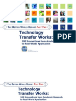 Technology Transfer Works - 100 Innovations from Academic Research to Real-World Applications, 2007
