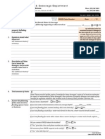 DWSD Claim Form - Detroit Flood 2014