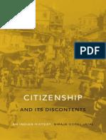 Niraja Gopal Jayal - Citizenship and Its Discontents. an Indian History [2013][a]