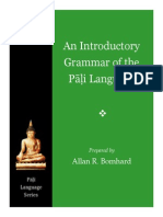 An Introductory Grammar of the Pāḷi Language
