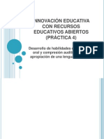 Innovación Educativa Con Rea (Práctica 4)