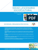 Unidad 3 Escenario Sociocultural