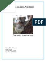 morrison chloe australian-animals