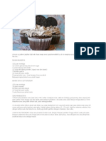Resepi Oreo Cupcake Meleleh