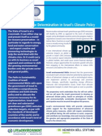 Israeli NGOs Climate Policy Position Paper COP15