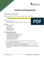 Prueba Practica de Programación
