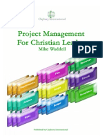 Project Management for Christian Leader -s