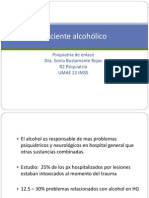 Paciente alcohólico