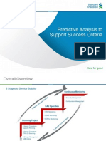 Predictive Analysis to Support Success Criteria v2.0
