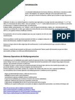 Procesamiento Multiprogramacion Paralelismo Interrupcion