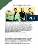 Historia de La Banda de Rock Panda