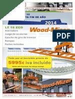 Promocion Aserradero Woodmizer LT10 Eco 2014 Hasta Fin Año