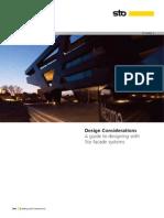 Sto Design Considerations Brochure
