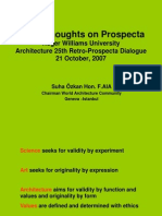 Some Thoughts on Prospecta