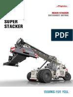 Ричстакер Ppm-terex Tfc45h-Hc Техническая Характеристика.Спецификация