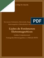 Lições de Fenômenos Eletromagnéticos - Apostila - J Almeida