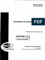 ACI 351 - Foundation for Dynamic Equipment