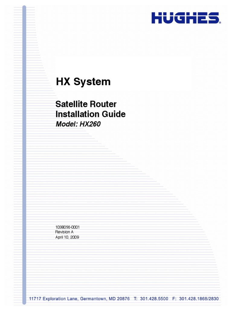 Hx260 Install 1038056 0001 A Forward Error Correction Operating Satellite Tv Wiring Diagram Dish Network 301 System