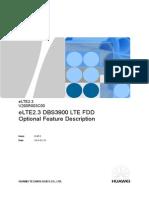 ELTE2.3 DBS3900 LTE FDD Optional Feature Description Draft a 20140210