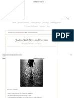 Shadow Work Notes and Exercises
