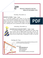 Event flyer 2009-12-14