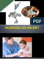 Nursing as an Art