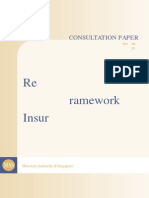 22 June 2012 Review on Risk Based Capital Framework for Insurers in Singapore RBC2 Review