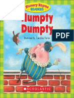 Nursery Rhyme Readers Humpty Dumpty 054526720X