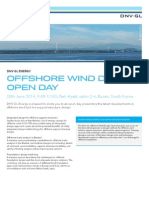 DNVGL_Offshore open day Busan_2014-06-20_Flyer+Agenda