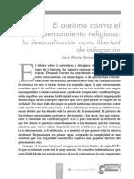 José María Fernández Paniagua - El Ateismo Contra El Pensamiento Religioso