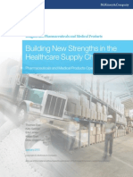 McKinsey White Paper - Building New Strenghts in Healthcare Supply Chain VF