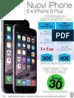 Novità Offerta iPhone 6 e 6 Plus