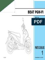 Parts Catalog Beat FI