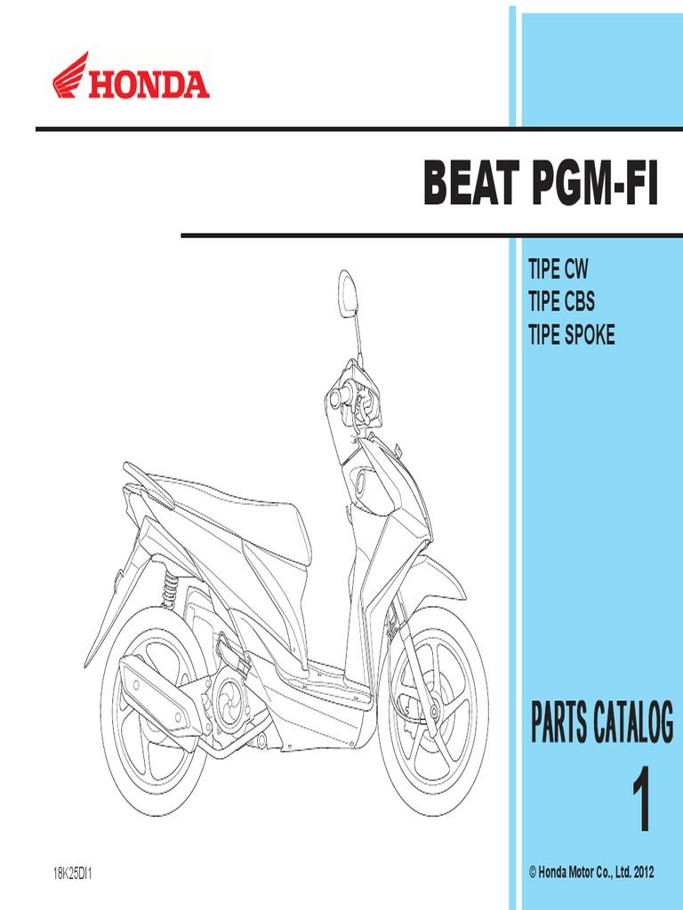 Diagram Diagram Kelistrikan Honda Vario 110 Full Version Hd
