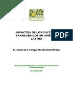 Impactos de los Cultivos Transgénicos en América Latina El Caso de la Soja RR en Argentina. En español.pdf
