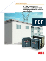 Transformer Substations - Theory and Examples of Short-Circuit Calculation