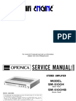Hfe Sharp Optonica Sm-5100h Service