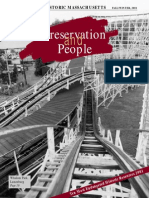 Preservation & People (PM Newsletter), Fall / Winter 2001