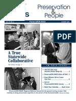 Preservation & People (PM Newsletter), Summer 2004