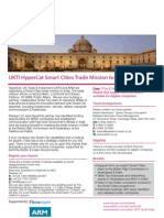 UKTI Hypercat Smart Cities Mission to India