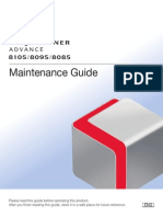 Canon iR Adv 8105 Maintenance Guide