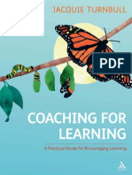 Coaching for Learning - Jacquie Turnbull