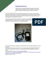 Membuat Charger HP Menggunakan Baterai AA
